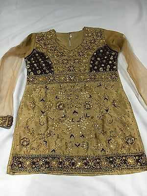 Girls Indian Top Size 26 Age4-5 Years Used