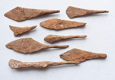 Ancient  Viking Era   Arrowheads lot