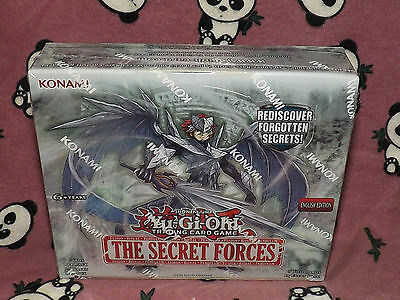 YuGiOh The Secret Forces ~ Edition English Sealed Box of 24 boosters Konami New