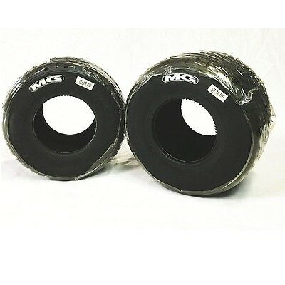 MG Tires / WT Rain Complete Set (Four), Front and Rear TAG Shifter Kart CKR CRG