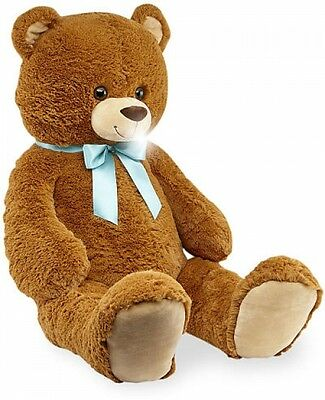 Animal Alley 42 Inch Stuffed Animal Plush Giant Teddy Bear Toy With Bow - Brown