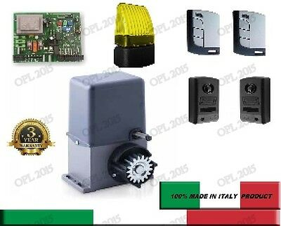Complete Kit 600kg Electric Sliding Automatic Gate Openerwith Wireless Remotes