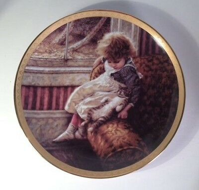 contentment by jim daly collectors plate