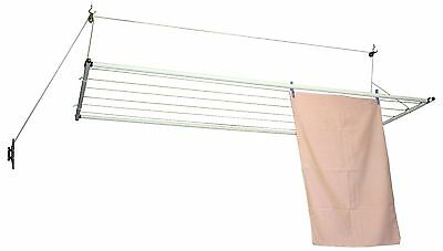 NEW VERSALINE CEILING MOUNTED CLOTHESLINE Pulley Operated Clothes Washing Line