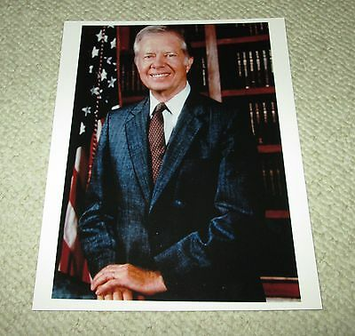 Jimmy Carter 39th President 8x10 Color Publicity Photo