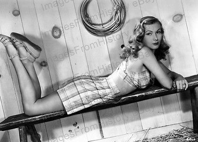 8x10 Print Veronica Lake Leggy Portrait #VL14