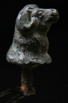 Celtic Iron Age Bronze LA TENE Mount Ram's head  4th century BC