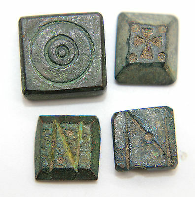 BYZANTINE BRONZE WEIGHT GROUP 5th-6th century AD