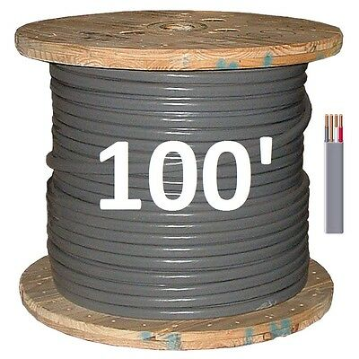 10/3 UF (100') (Underground Feeder / Direct Burial), Copper, 4 Wire/Cable
