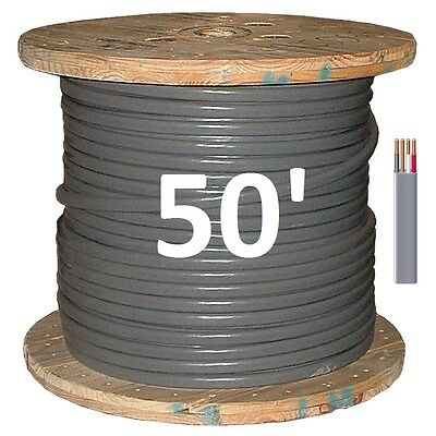 6/3 UF (50') (Underground Feeder / Direct Burial), Copper, 4 Wire/Cable
