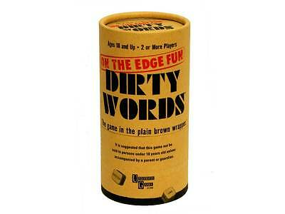 DIRTY WORDS Game On The Edge Fun University Games NEW