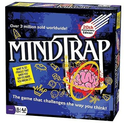 Mindtrap 20th Anniversary Edition Game BRAND NEW