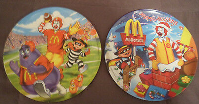 McDonald's  Collectors Plates ~Two~ Never Used