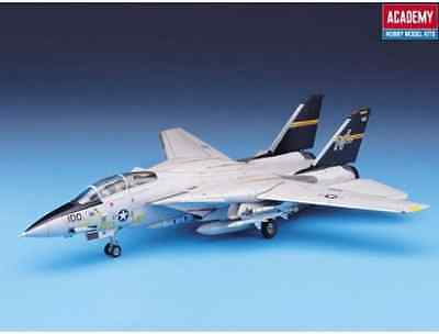 Brand New ACADEMY 1/72 F-14A TOMCAT Military Aircraft Model Kit ACA-12471
