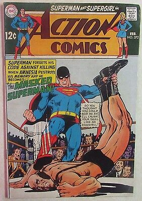 DC Comics - Action Comics Issue #372 - Silver Age -1960s - Superman