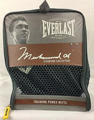Everlast Muhammad Ali Signature Collection Training Punch Mitts!