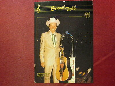 Ernest Tubb Western Music 1992 COUNTRY CLASSICS TRADING CARD