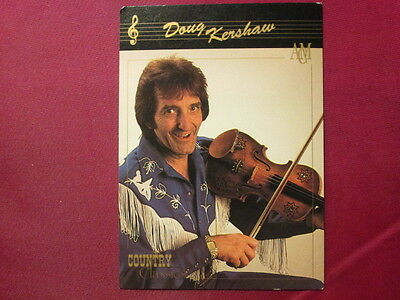 Doug Kershaw Western Music 1992 COUNTRY CLASSICS TRADING CARD