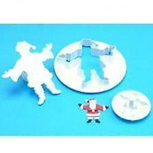 NEW PME Father Christmas Cutter Set Cake Decorating Cake Baker