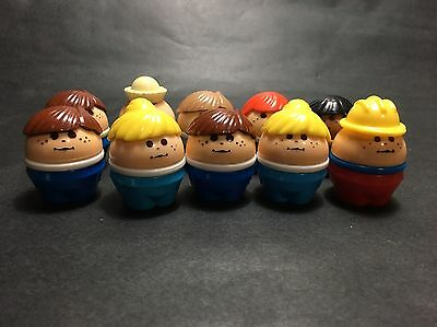 10x Vintage Little Tykes Toddle Tots People Lot
