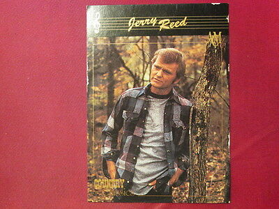 JERRY REED Western Music 1992 COUNTRY CLASSICS TRADING CARD