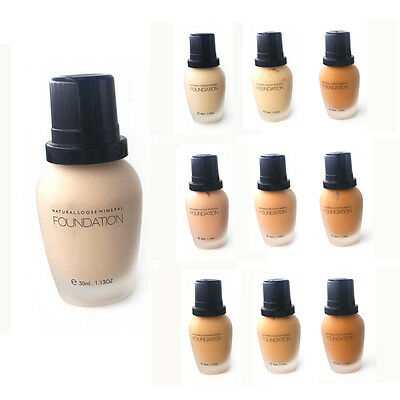 Face Foundation Liquid Make up Maquillaje Concealer Cream Waterproof Base HY