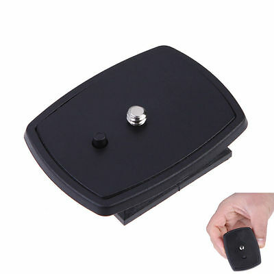 Black DSLR SLR Camera Tripod Quick Release Plate Screw Adapter Mount For Sony