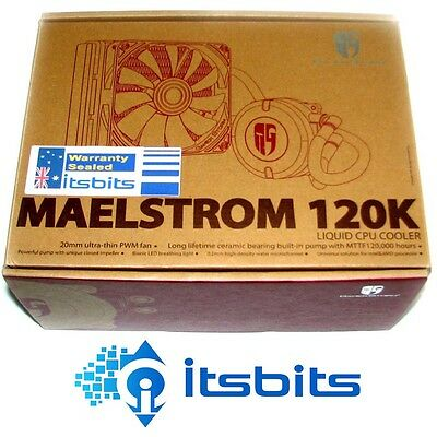 DEEPCOOL GAMER-STORM MAELSTROM 120K LIQUID CPU COOLING INTEL i3 i5 i7  AMD