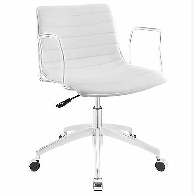 Modway Furniture EEI-1528-WHI Celerity Office Chair  White NEW