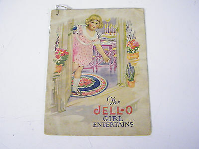 Vintage The Jell-O Girl Entertains Recipe Booklet