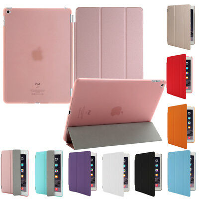 Smart Stand Cover Hard Back Case for Apple iPad Mini 1 2 3/iPad 234/iPad Air LOT