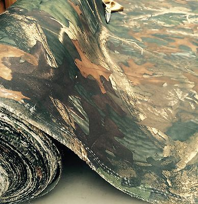 waterproof camouflage canvas fabric150cm wide per /mtr real tree camo print