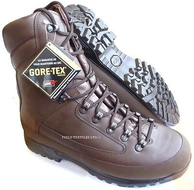 British Army Karrimor Sf Goretex Brown Cold Weather Boots - 12 Wide - New In Box