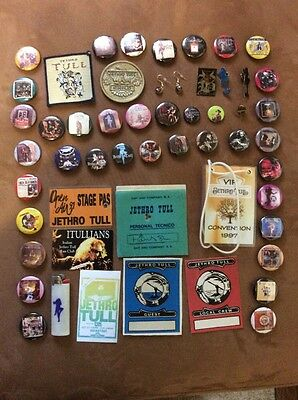 Jethro Tull 21 Badges / Buttons