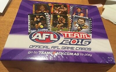 2016 Afl Teamcoach Sealed Box *going Cheap! Team Coach Sealed Box!