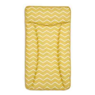 Mamas and Papas -  Essentials Changing Mat / Mattress - Mustard Chevron BNIP
