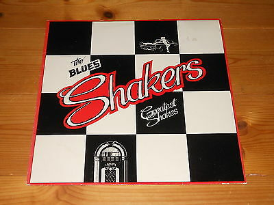 Private UK Blues Rock / Heavy Blues LP - The Blues Shakers - Greatest Shakes