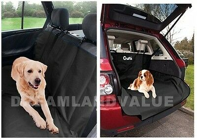 Heavy Duty Waterproof Car Seat Cover / Rear Back Boot Liner Protector Dog Pet