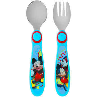 The First Years Disney Mickey Mouse Clubhouse Fork Spoon, BPA-Free Black Friday