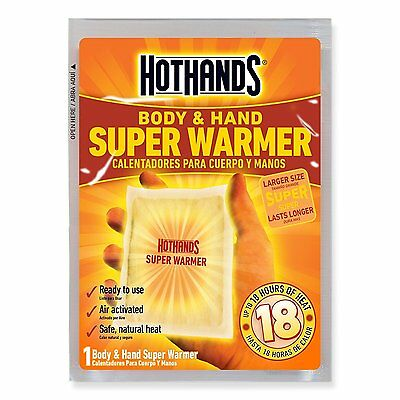 Hothands Body & Hand Super Warmer, Up to 18 Hours Of Heat 40 Count HH1ED240E New