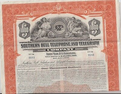 Southern Bell Telephone And Telegraph Company....1939 Debenture
