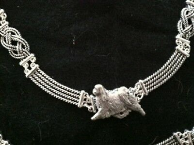 CHIN Knot Necklace~dog jewelry~celtic~Infinity knot Japanese chin
