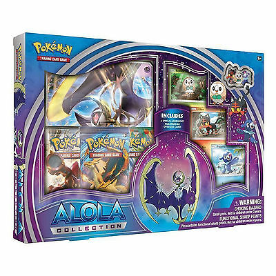Pokemon Lunala GX Alola Collection Box: Booster Packs + Promo Cards - Sun & Moon