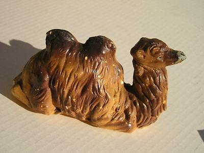 Antique Vintage~Laying Camel~Aged Christmas~Nativity Unusual
