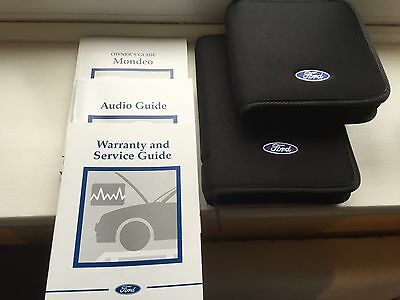 Ford Mondeo Handbook Pack With Wallet And CD holder