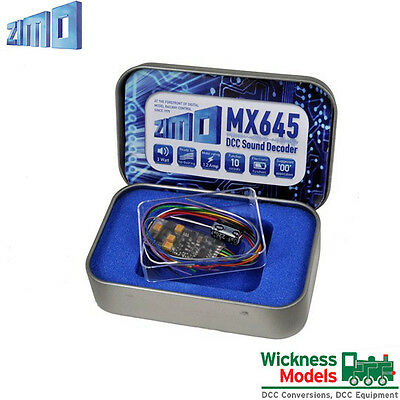 Zimo MX645 DCC Sound Decoder Diesel YouChoos Soundtrack From Wickness Models
