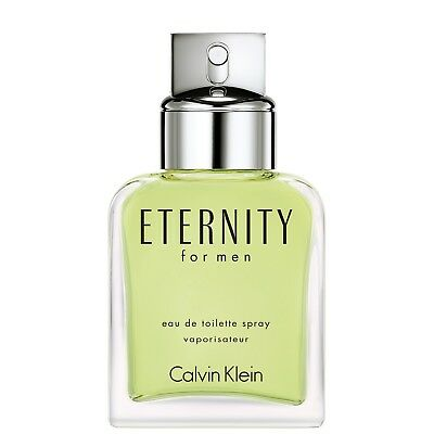 NEW Calvin Klein Eternity for Men Eau de Toilette Spray 50ml Fragrance FREE P&P