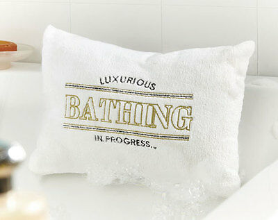Luxury Bath Pillow - Super Soft Pillow For Relaxing In The Bath - Brand New