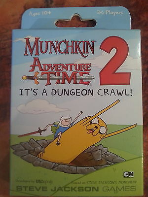 Munchkin Adventure Time 2 Its A Dungeon Crawl - New