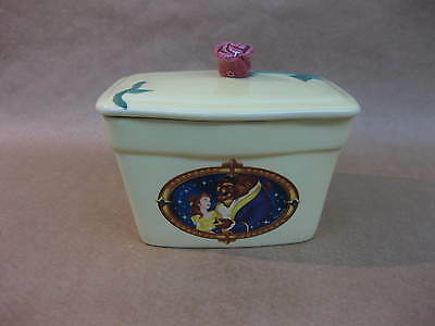 Beauty & The Beast Special Edition Butter Dish ~ Clover Butter Dish ~ Disney